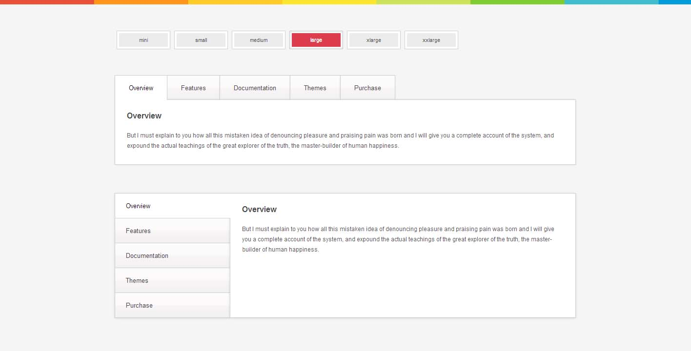 Zozo Tabs - Fully Responsive and Touch-Enabled jQuery Tabs plugin