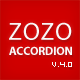 Zozo Accordion | jQuery Accordion Plugin
